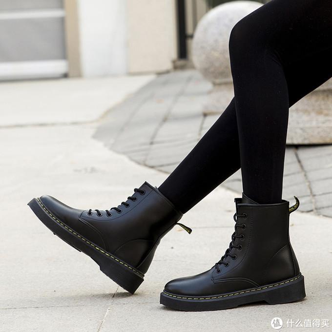秋冬季时尚百搭休闲女靴