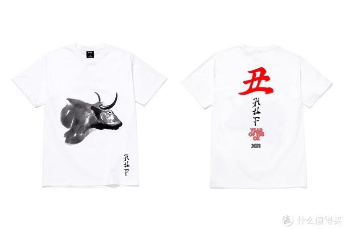 国画和书法字凸显出了老外对中国文化的印象,摘自HYPEBEAST
