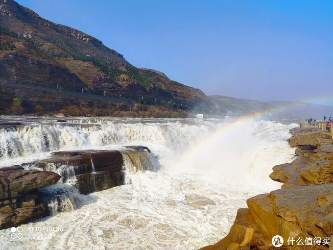 山西临汾,壶口瀑布,很壮观,去年在陕西那一边看没这么壮观。