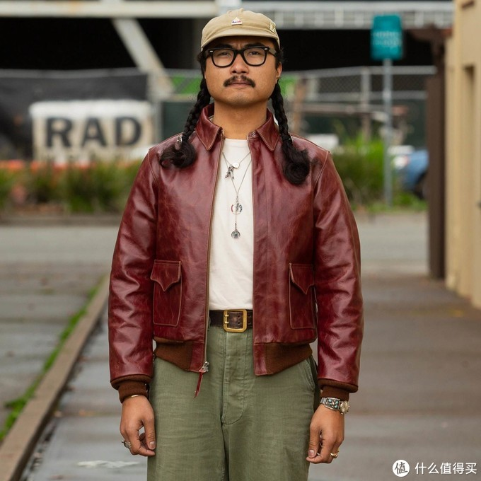 THE REAL MCCOY'S天皇染A2皮衣 云评测
