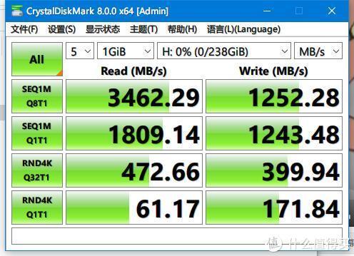 OEM产品评测,忆联AH640 256GB评测