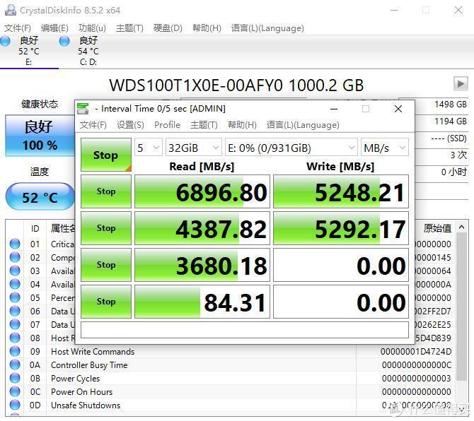 """速度炸裂,""""真""""PCIe4.0固态、西部数据WD_BLACK SN850固态硬盘 深度评测"""