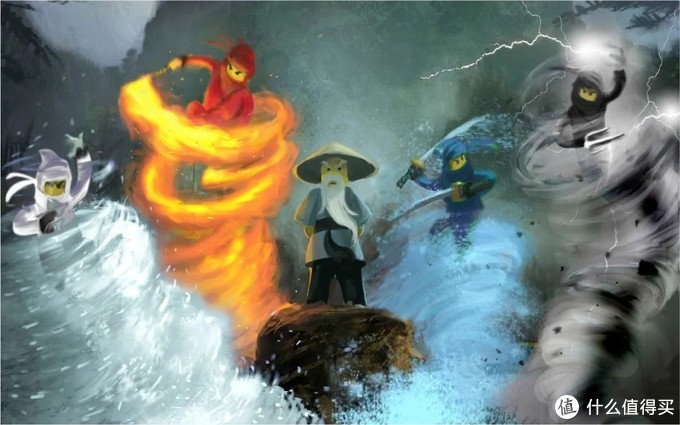 回顾乐高幻影忍者十年历程:首次曝光的海量设计稿及套装演变过程