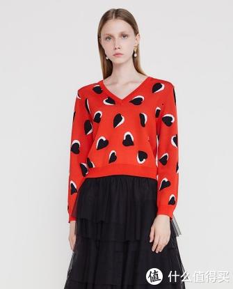 欧时力几十款女装带来超火新年新运势~快来挑选你的红色战袍!百余元即可解决~