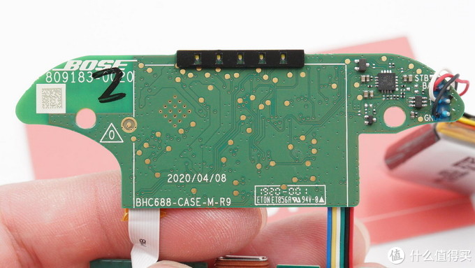 拆解报告:Bose Sport Earbuds真无线蓝牙耳机