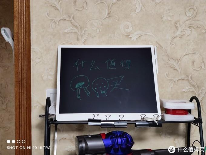冰箱记事终极解决方案:小米米家液晶小黑板20英寸入手