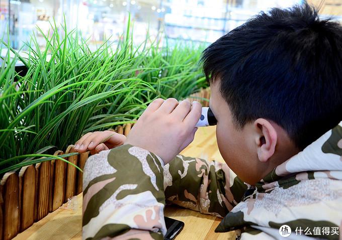 假期怎么给孩子选礼物?科学罐头手持显微镜:记录微观世界里的奥秘