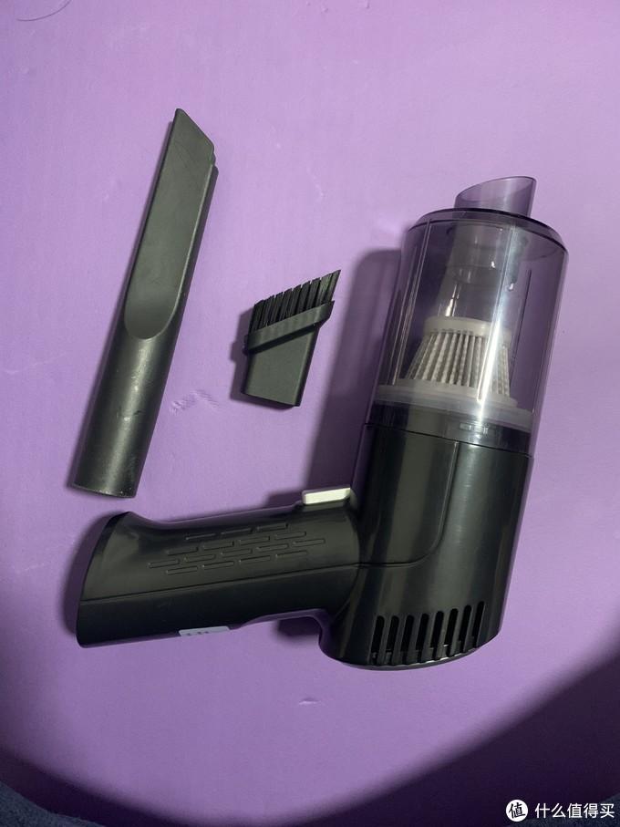 拼多多35元车载无线吸尘器尝鲜记——是玩具还是工具