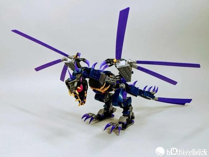 乐高幻影忍者71742黑暗之主的飞龙开箱评测
