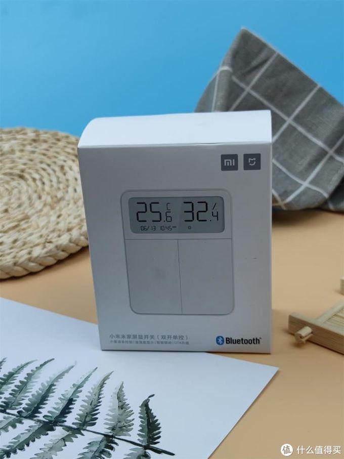 米家多开智能开关+不断电温湿度=米家屏显开关