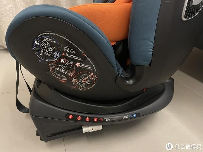 会呼吸的智能安全座椅---两只兔子未知安全座椅使用评测