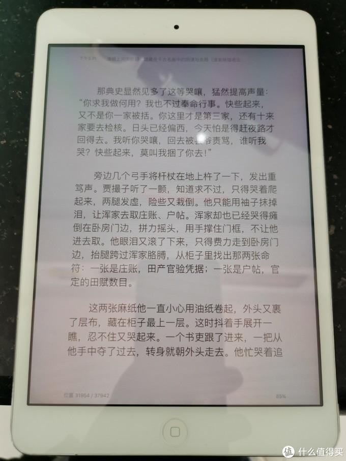 闲鱼154九成新ipadmini1代晒单