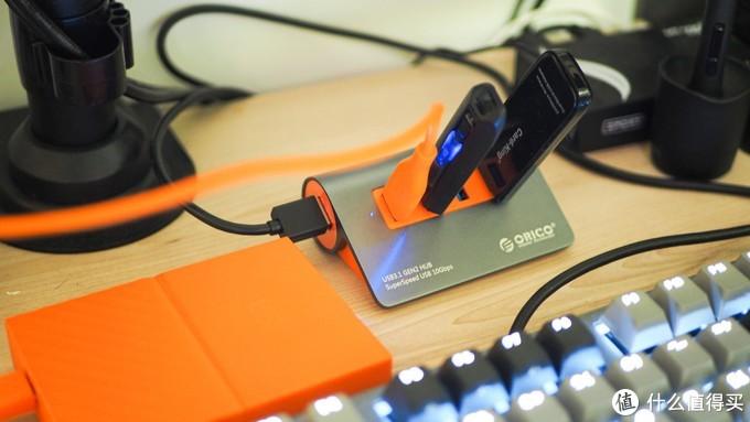ORICO四合一USB集线器晒单体验