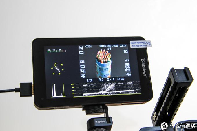 尺寸刚刚好的5.5寸高亮屏监视器,新品百视悦R6上手体验!