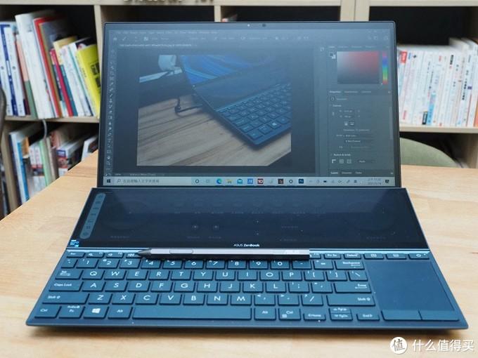 Asus ZenBook Pro Duo 14 UX482双屏幕笔记本电脑