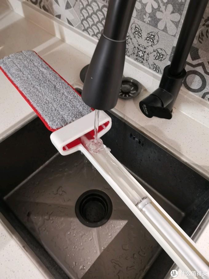 宜洁自挤水免手洗拖把开箱评测