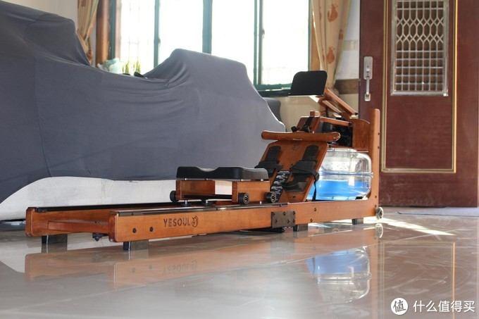 """""""废柴""""的居家锻炼神器——野兽R30折叠划船机"""