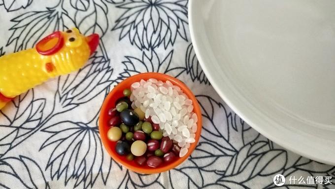黑豆黄豆赤豆绿豆:大米,1:1