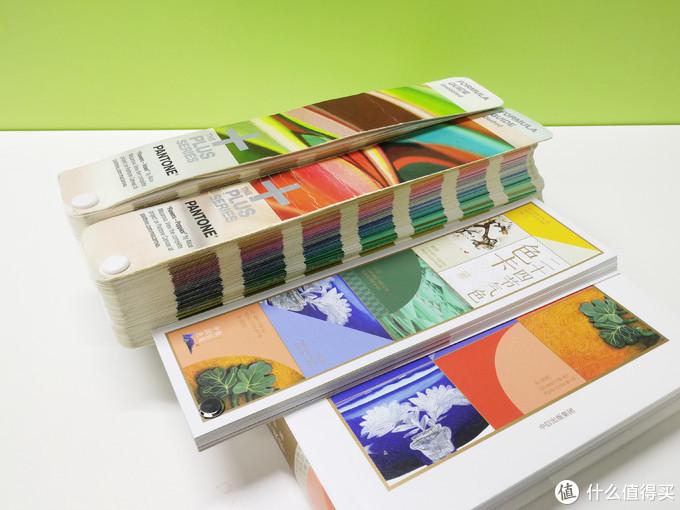 传统的潘通卡和中国二十四节气色卡