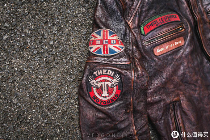 小众没人气的皮衣:Thedi J100做旧机车皮衣