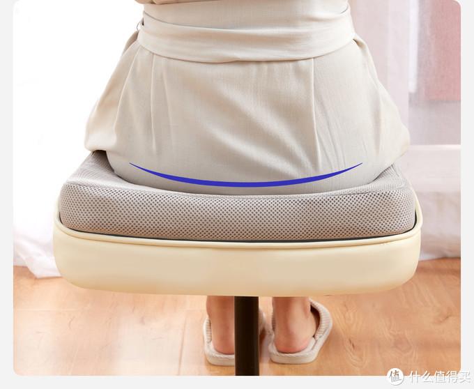 """8H上新坐着不捂汗的4D抗菌舒缓坐垫,真""""芯""""透气!"""