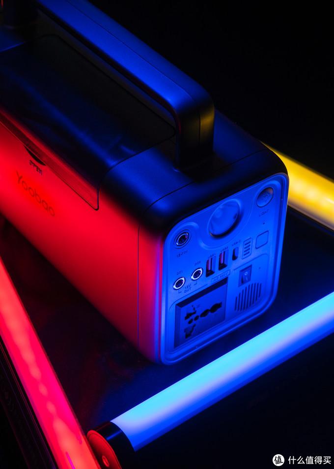 摄影灯具的忠实后勤保障-羽博EN300WL-PD户外电源