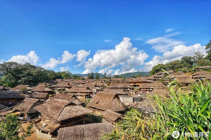 翁丁佤族古村落