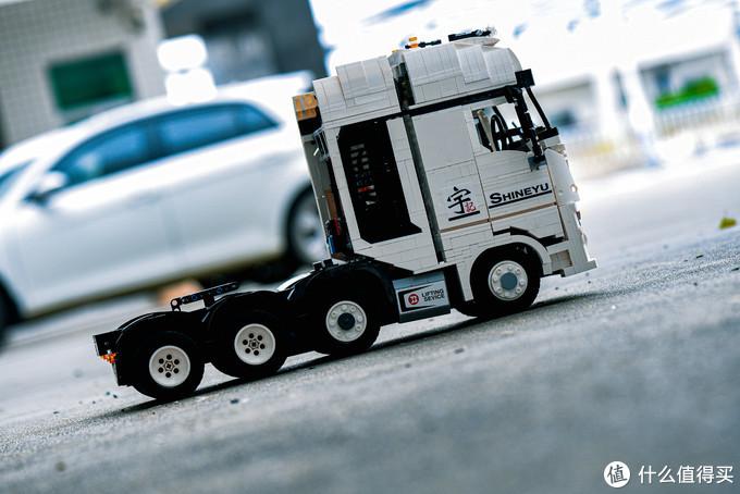 国产积木 悦创积木 挑战一下2949块零件 宇记工坊高难度积木拖头车