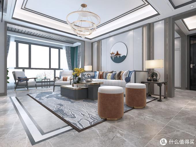 去电视的客厅到底有多好看,看了她家装修之后被圈粉了,美观整体
