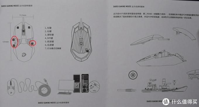 冰封王座再次安装,达尔优电竞鼠标A970开箱体验