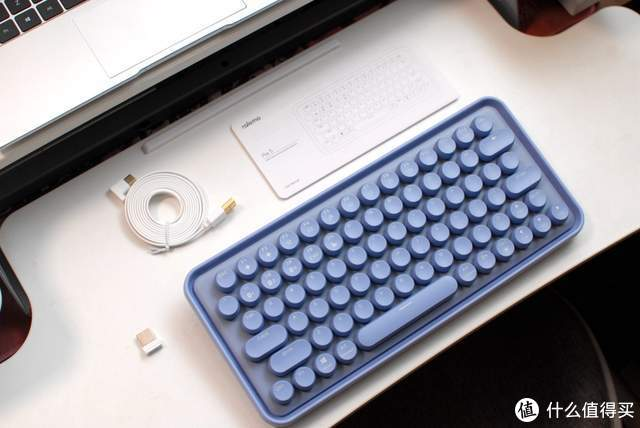 雷柏ralemo Pre5多模机械键盘:一把怀揣少女心的键盘