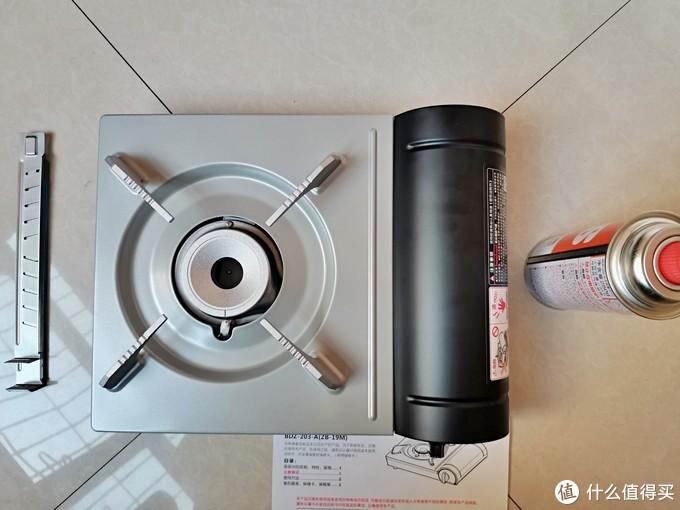 想吃锅子,所以买了个炉子,岩谷卡式炉晒单