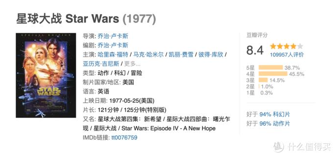 《星球大战》这个不容错过的高分科幻片,在美国家喻户晓