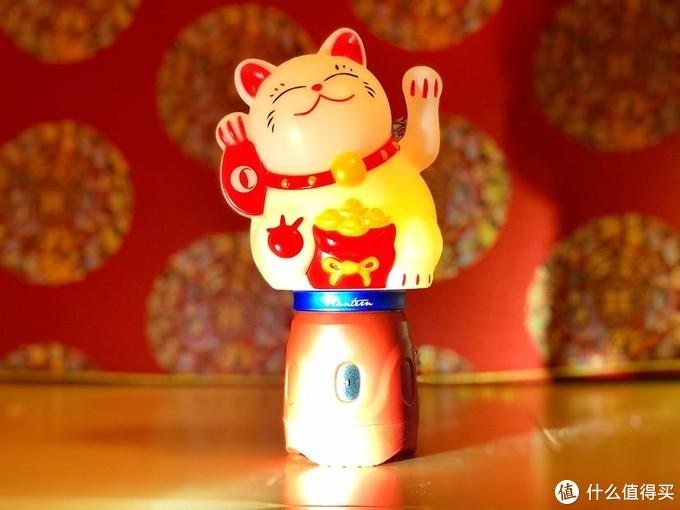 发光的祝福,新年带给你!——olight兰灯配件:招财猫灯罩