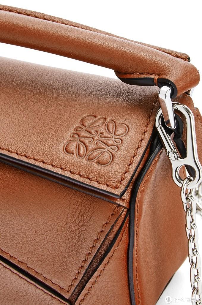 Loewe全新Puzzle Nano手袋,超迷你,真是个五彩缤纷的小可爱