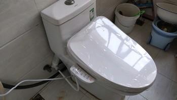 铁杆张大妈体验党 篇二十五:水力强劲被喷一身,不足千元带烘干,这款Toshiba智能马桶盖真的香?