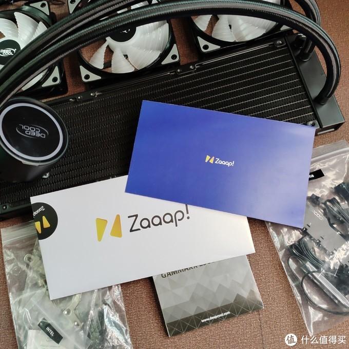 九州风神 水元素 GAMMAXX L360 A-RGB 水冷 散热器 开箱!!