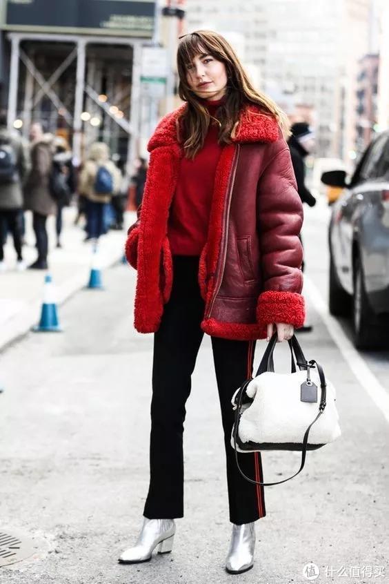新年开运红穿搭 要的就是这个范