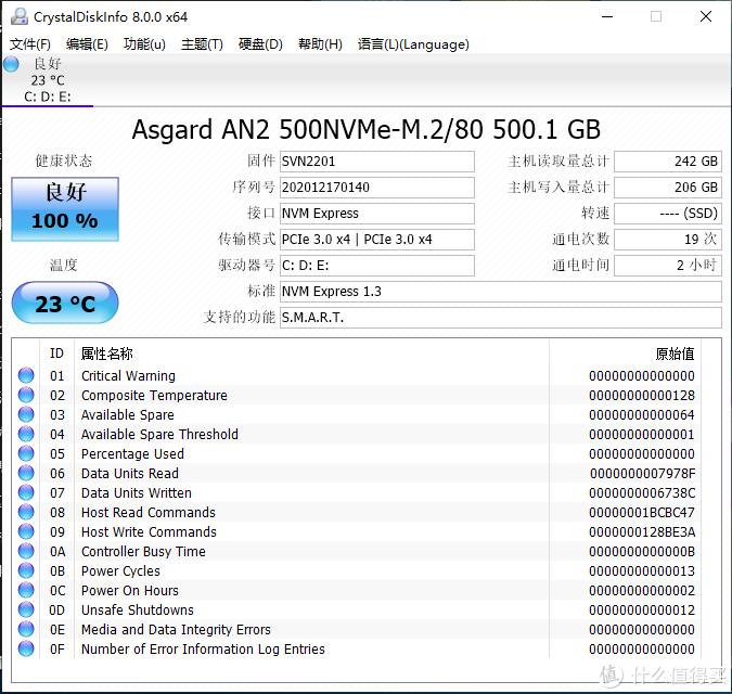 够用党终于升级了他的硬盘——阿斯加特AN2