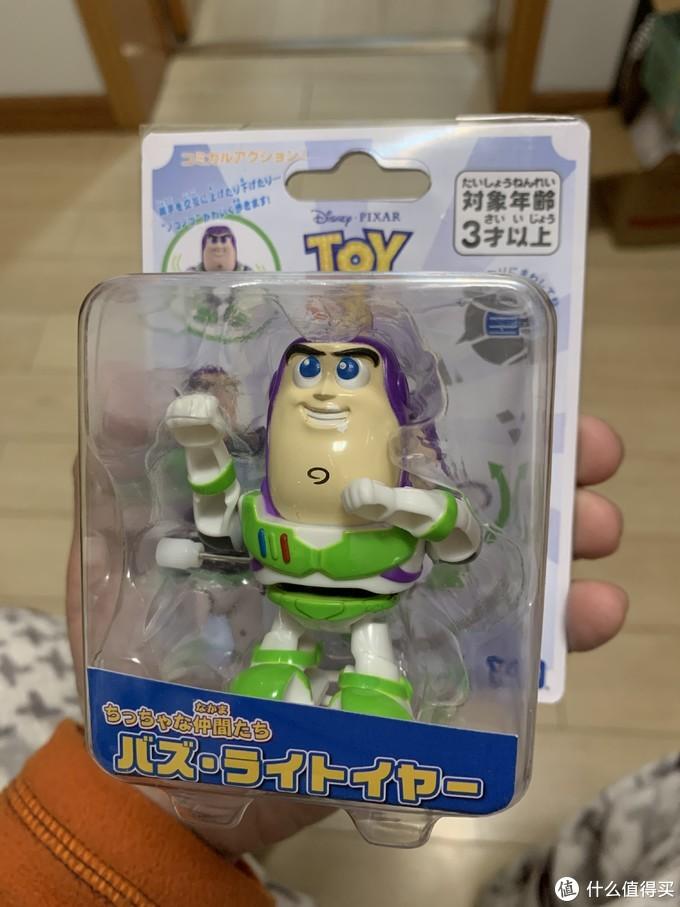 图书馆猿のTAKARA TOMY 多美 TMYC864134 发条玩具 巴斯光年 简单晒