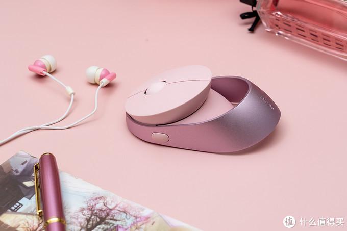 直男请绕行,女生专属设计,雷柏乐萌 Air 1无线鼠标开箱体验
