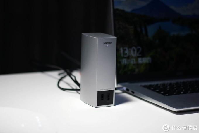 超级方便的桌面接口拓展利器 - 绿联USB Type-C桌面拓展坞