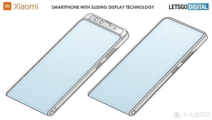 小米环绕屏又有新专利,正面做到了真全面屏,采用卷轴伸缩式方案