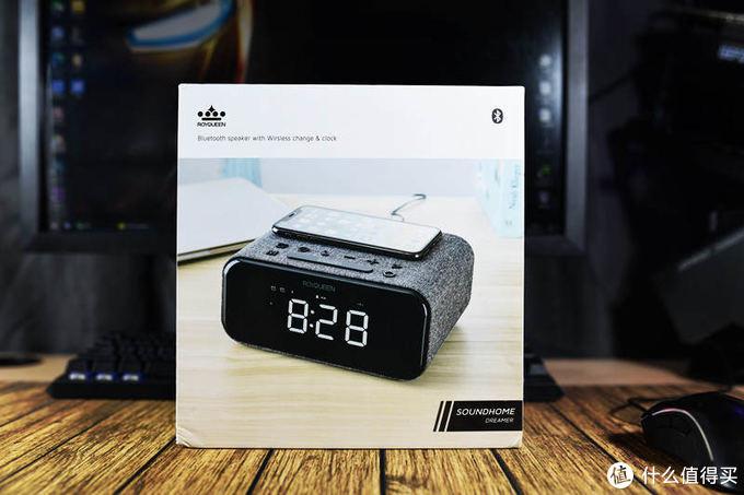 有线蓝牙用的更爽-朗琴H1桌面时钟蓝牙音箱