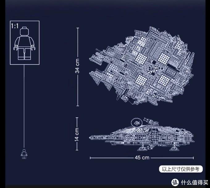 75257千年隼尺寸