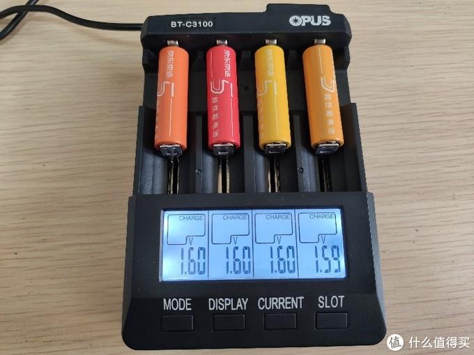 看起来差不多的彩虹电池,选谁?测试一下再说…