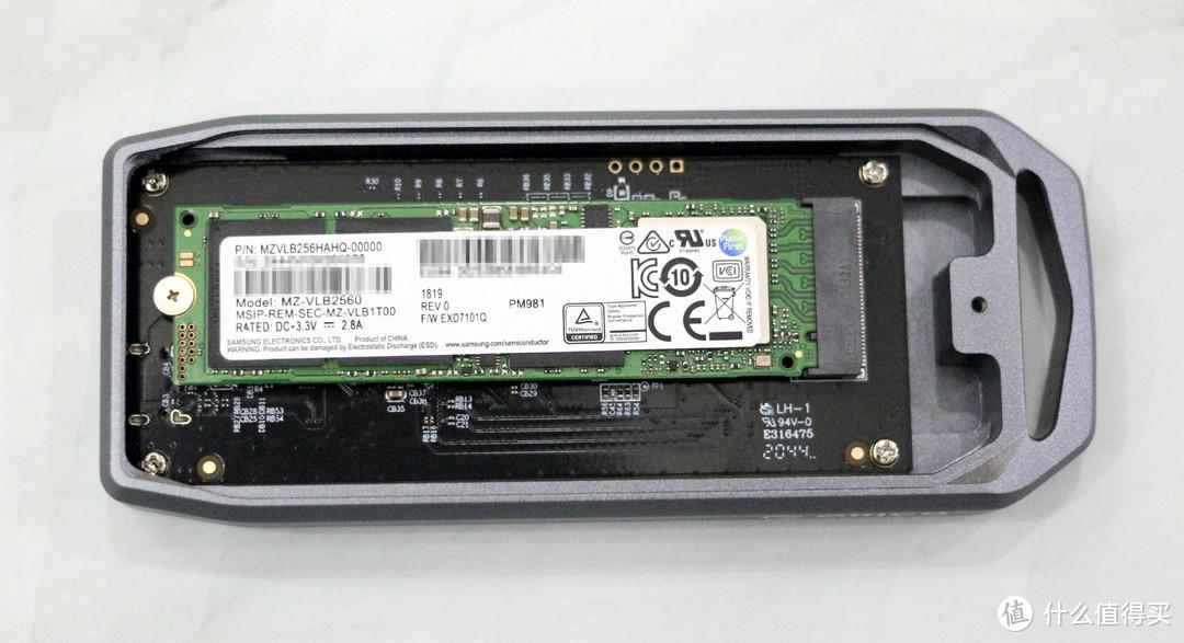 奥睿科旗下首款USB4.0 NvMe SSD硬盘盒(JHL7440+JMS583)开箱和使用体验