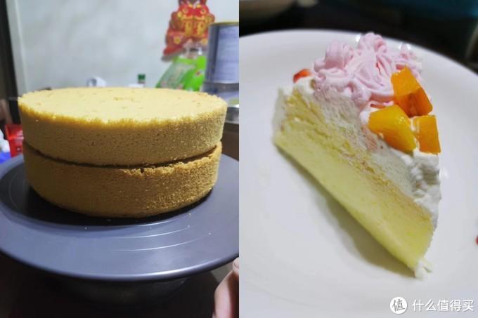 戚风和用用戚风做的蛋糕🍰