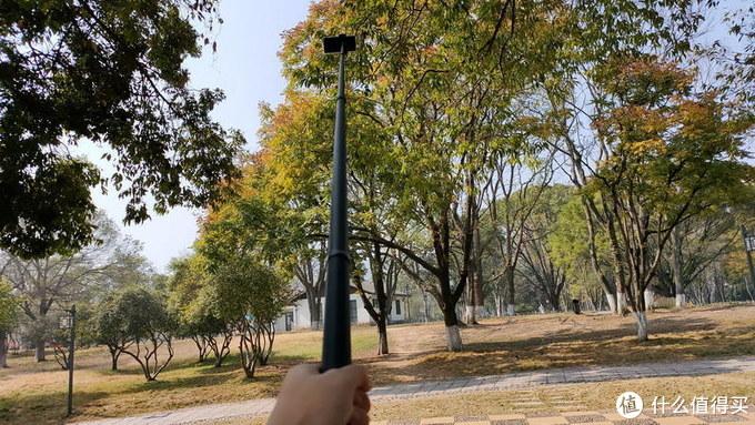 换个视角看世界,2.7米Telesin碳纤维自拍杆