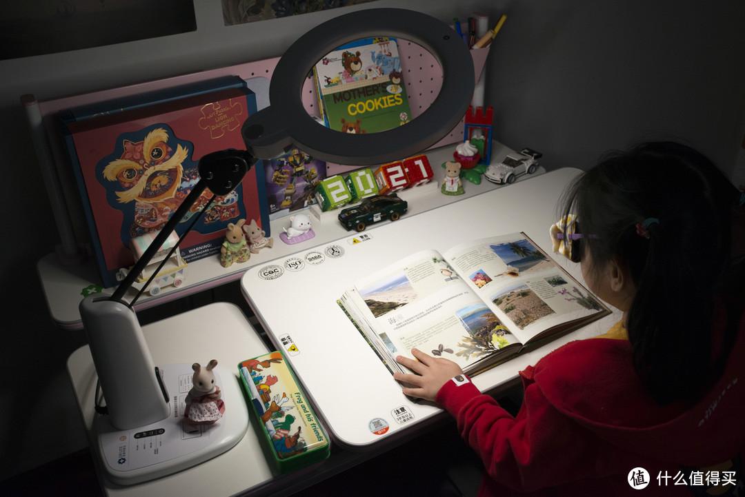 爱护眼睛,从小做起!为小朋友打造一个小小工作台~ 爱德华医生护眼台灯专科版